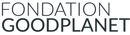 Logo fondation goodplanet - gris - FR